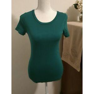 J. Crew size M green t-shirt